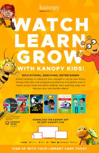 Kanopy Kids Poster
