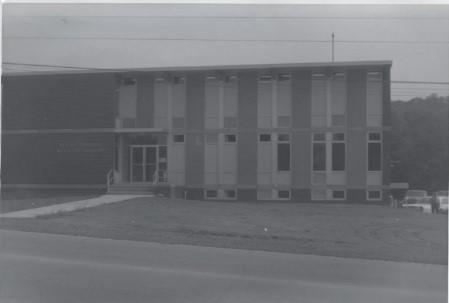 Peters Township Municipal Building Circa 1965