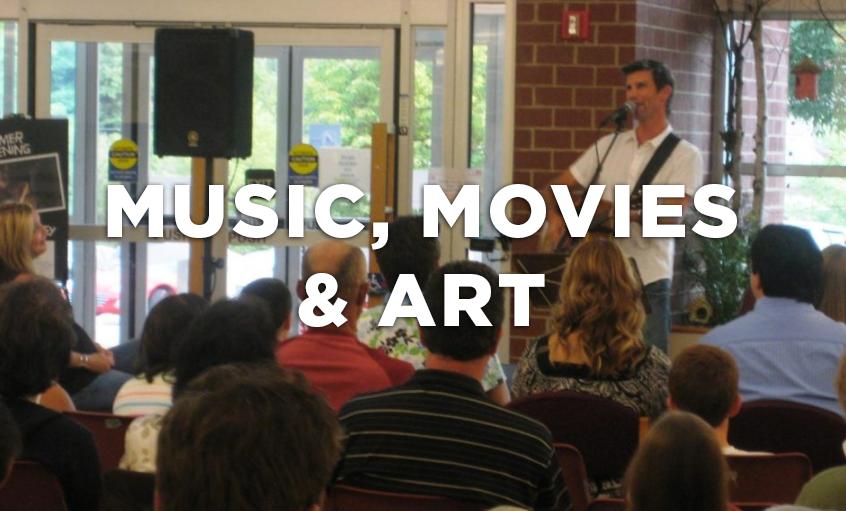 Movies, Music & Art